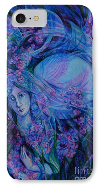 Song Of Lilac Phone Case by Anna  Duyunova