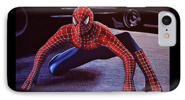 Spiderman 2  Phone Case by Paul Meijering