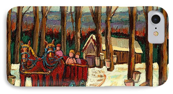 Sugar Shack IPhone Case by Carole Spandau