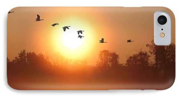 Returning South IPhone Case by I\'ina Van Lawick