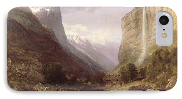 Swiss Scene Phone Case by Samuel Jackson
