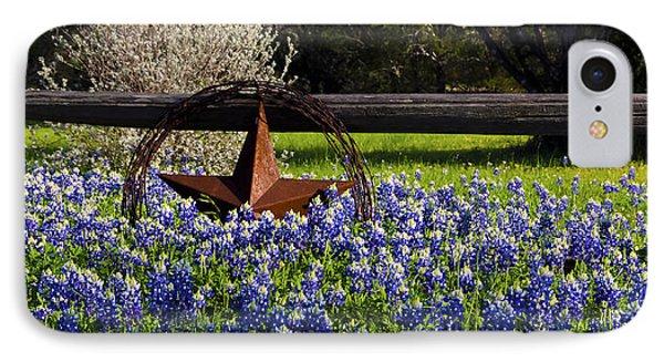 Texas Bluebonnets IIi IPhone Case by Greg Reed