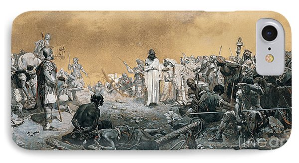The Arrival At Calvary IPhone Case