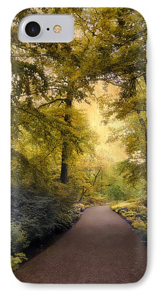 The Golden Walkway IPhone Case by Jessica Jenney
