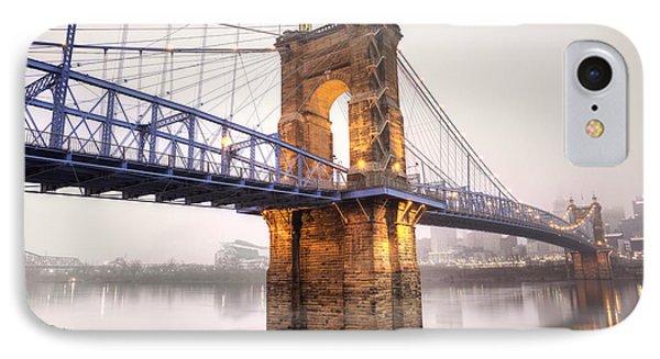 The Roebling Bridge IPhone Case