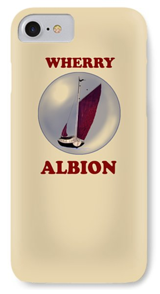The Wherry Albion Phone Case by Valerie Anne Kelly