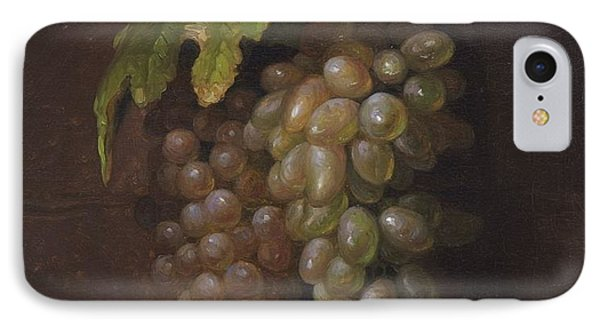 Title Grapes Rome IPhone Case by MotionAge Designs