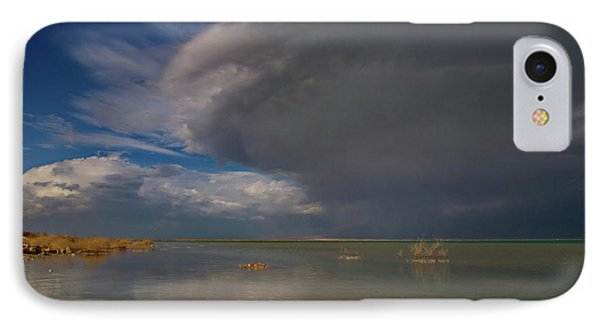 IPhone Case featuring the photograph  When The Storm Comes by Arik Baltinester