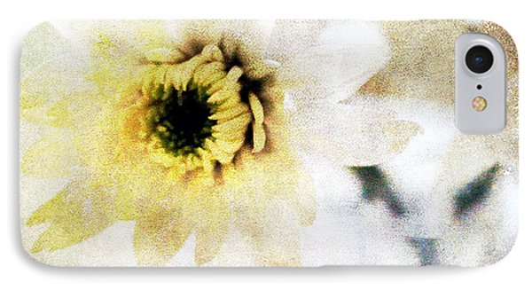 Daisy iPhone 7 Case -  White Flower by Linda Woods