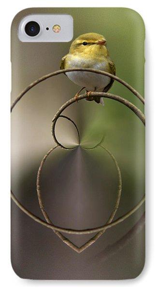 Wood Warbler IPhone Case by Jouko Lehto