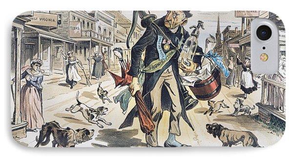 Prohibition  Cartoon, 1889 Phone Case by Granger