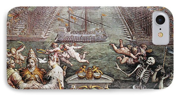 Battle Of Lepanto, 1571 Phone Case by Granger