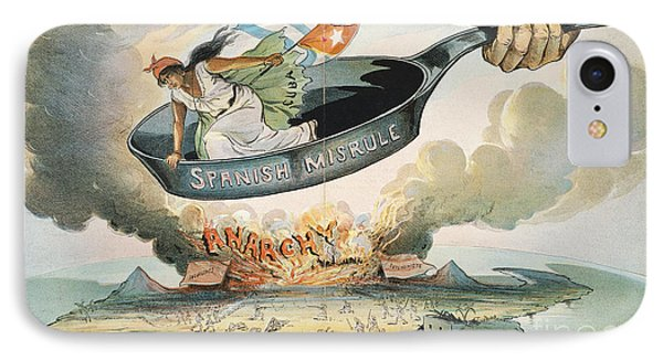 Spanish-american War, 1898 Phone Case by Granger