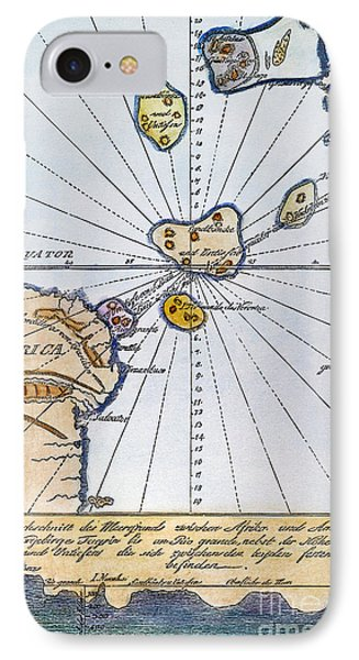 Traces Of Atlantis IPhone Case by Granger
