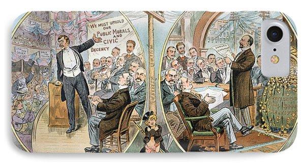 Business Cartoon, 1904 Phone Case by Granger