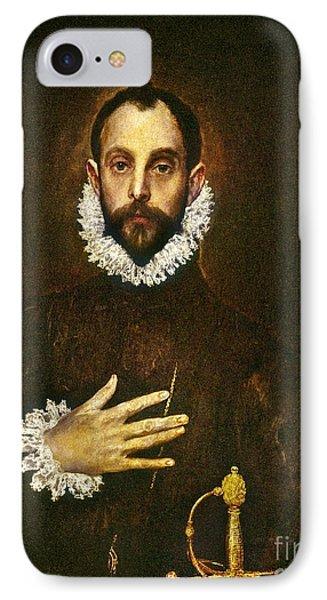 El Greco: Gentleman Phone Case by Granger