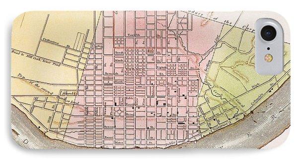 Cincinnati, Ohio, 1837 Phone Case by Granger