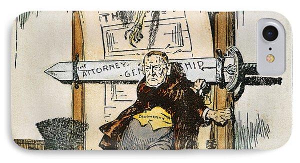 Skeletons Of Malfeasance Phone Case by Granger