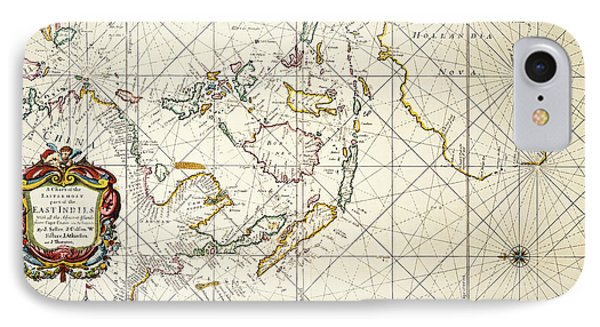 Map: East Indies, 1670 Phone Case by Granger