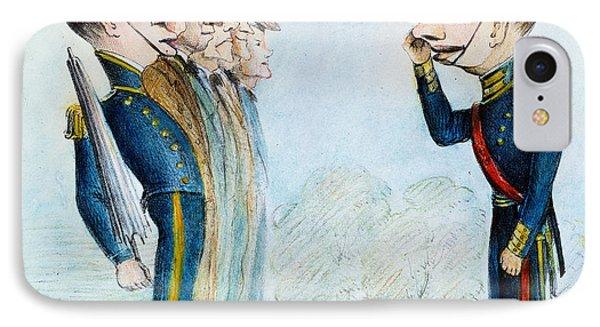 Cartoon: Mexican War, 1846 Phone Case by Granger