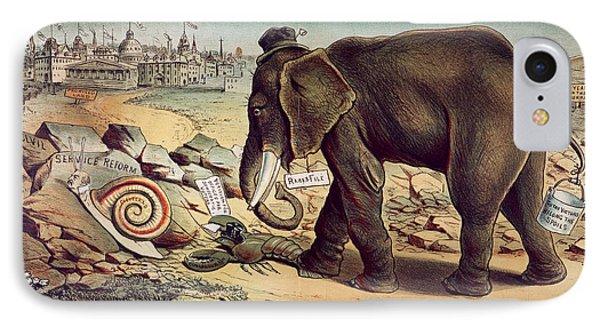 Office Seekers 1885 Phone Case by Granger