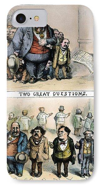 Nast: Tweed Corruption Phone Case by Granger