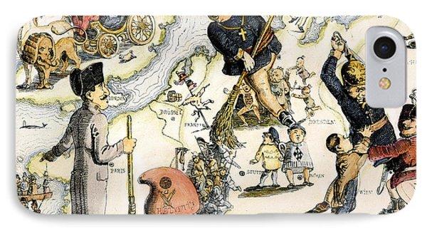 Europe: 1848 Uprisings Phone Case by Granger