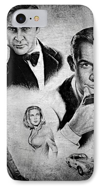 007 Connery IPhone Case