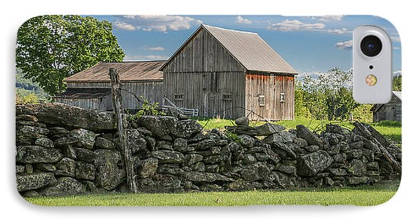 #0079 - Robert's Barn, New Hampshire IPhone Case