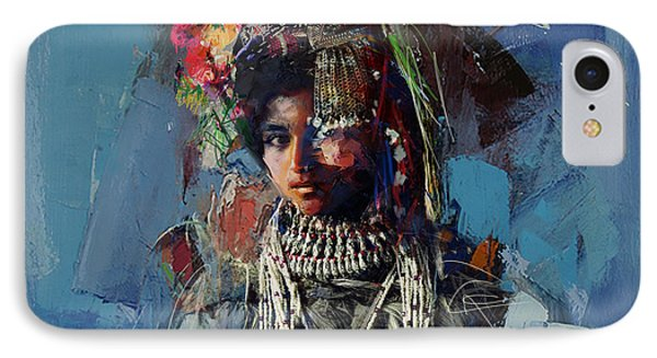 009 Kazakhstan Culture IPhone Case by Maryam Mughal