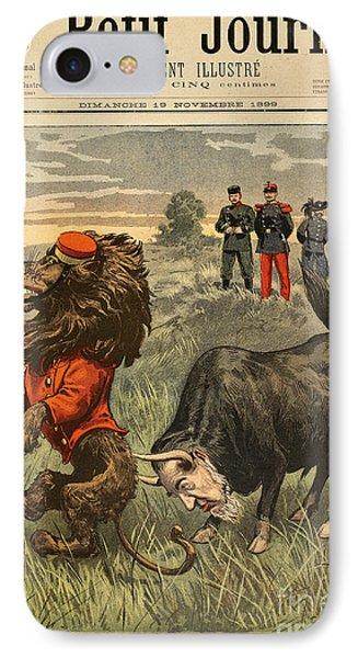 Boer War Cartoon, 1899 Phone Case by Granger