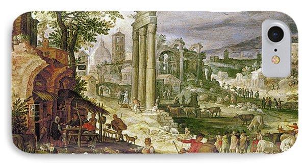 Roman Forum, 16th Century Phone Case by Granger
