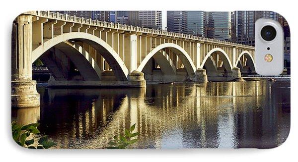 0333 3rd Avenue Bridge Minneapolis IPhone Case