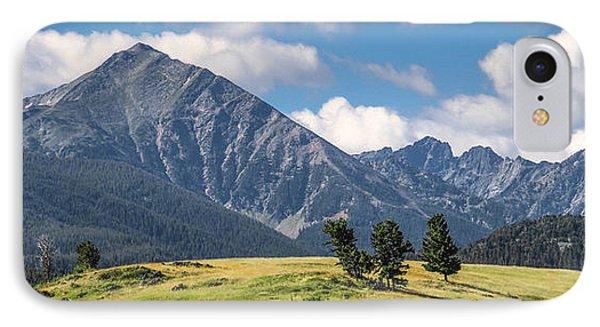 #0491 - Spanish Peaks, Southwest Montana IPhone Case