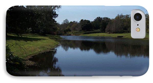 071115 Louisiana Bayou IPhone Case by Garland Oldham