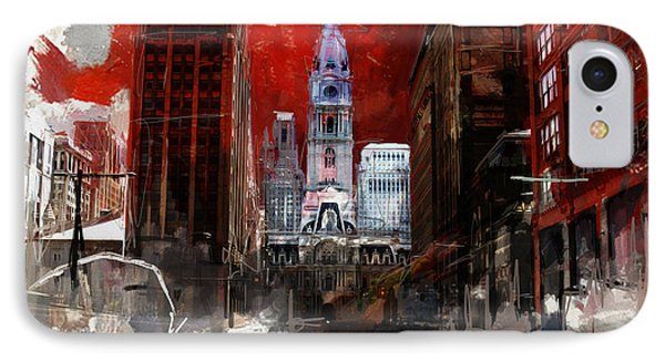 081 Parade On South Broad Street IPhone Case by Maryam Mughal