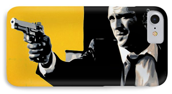 - Mr Blonde - IPhone Case by Luis Ludzska