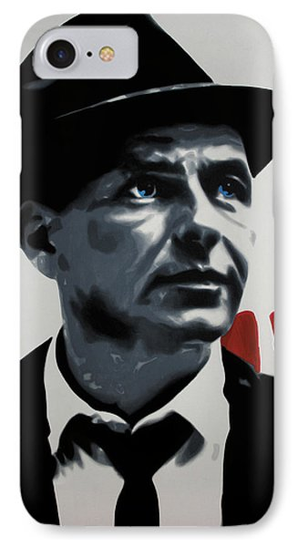 - Sinatra - IPhone Case by Luis Ludzska