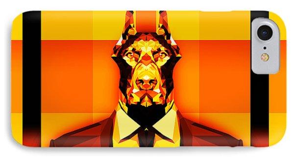 12 Doberman IPhone Case by Gallini Design