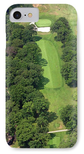 12th Hole Sunnybrook Golf Club IPhone Case by Duncan Pearson