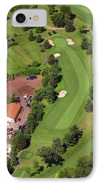 14th Hole Sunnybrook Golf Club IPhone Case by Duncan Pearson
