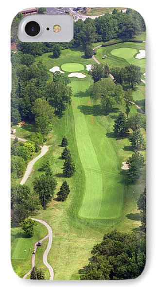 16th Hole Sunnybrook Golf Club IPhone Case by Duncan Pearson
