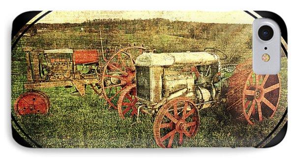 Vintage 1923 Fordson Tractors IPhone Case