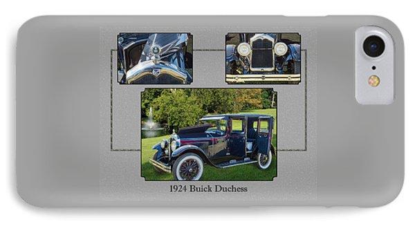 1924 Buick Duchess Antique Vintage Photograph Fine Art Prints 120    IPhone Case