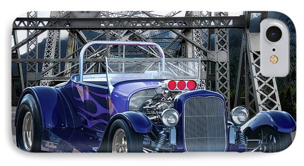 1927 Ford Model T Roadster IPhone Case by Dave Koontz