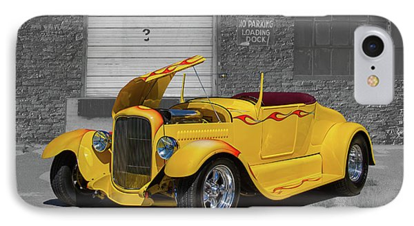 1927 Ford Roadster Hot Rod IPhone Case by Nick Gray