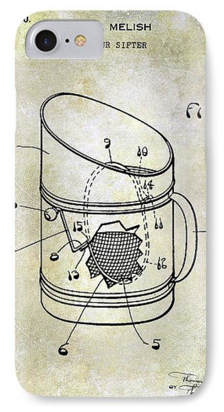 1930 Flour Sifter Patent IPhone Case