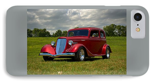 IPhone Case featuring the photograph 1933 Ford Vicky Hot Rod by Tim McCullough