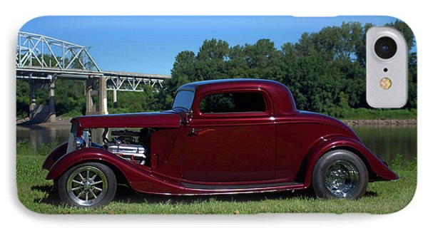 IPhone Case featuring the photograph 1934 Ford Coupe by Tim McCullough
