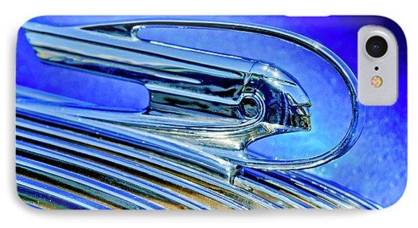1936 Pontiac Hood Ornament 5 Phone Case by Jill Reger